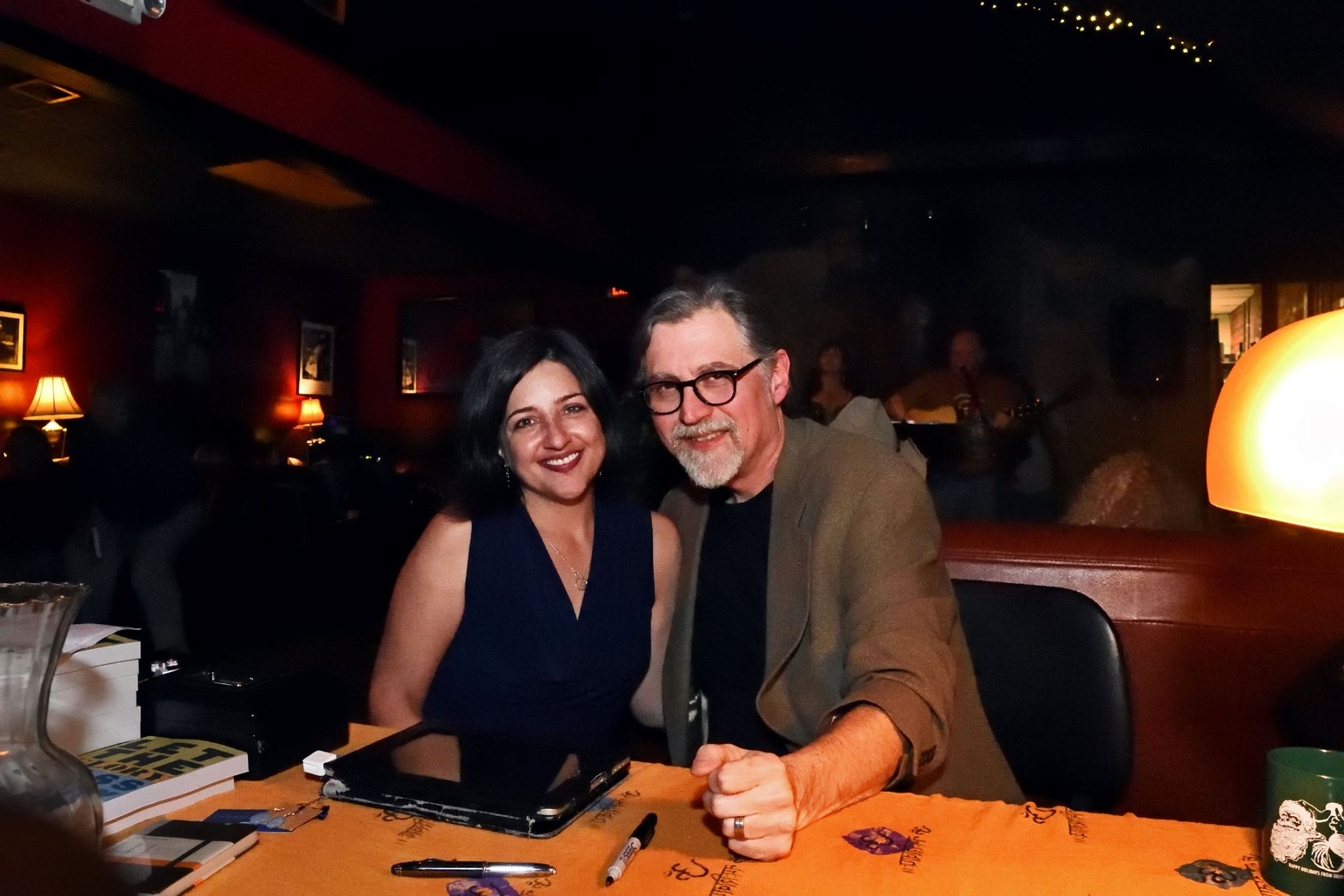 The author and his publication collaborator, Catherine A. Shuler.
